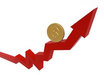Business Graph / Money Concept