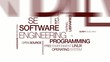Programming SE Software Engineering tag cloud animation