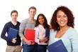 junge leute bewerben sich auf einen ausbildungsplatz