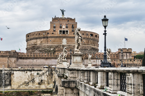 Castle of the Angels, Rome. St Angelo