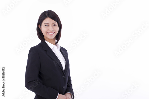 a young businesswoman