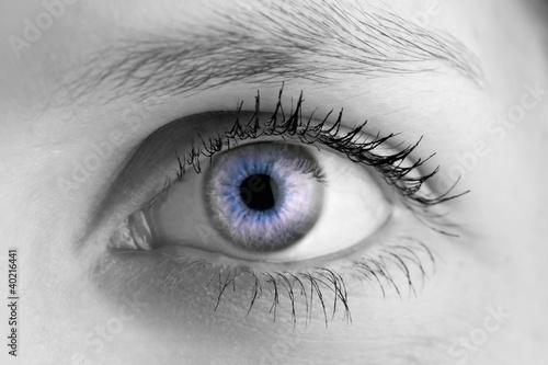 Fototapeten,auge,eye,frau,blau
