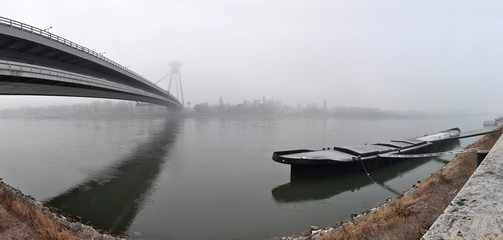 Dunaj river