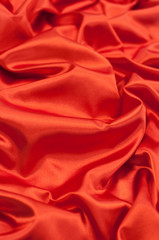 Red Satin Fabric