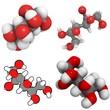 Sorbitol molecule