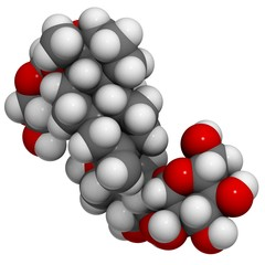 Stevioside molecules