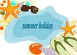 Urlaub, Sonne, Meer und Strand
