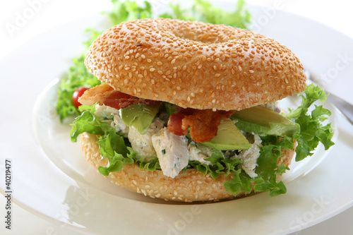 Papiers peints Snack Chicken Sandwich
