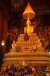 Sitting Buddha statue, Thailand