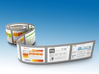 Webdesign, Website, Homepage, Präsentation, 3D, Internet, Web