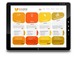 Tablet-PC, Computer, Webdesign, Internet, Design, Dienstleistung