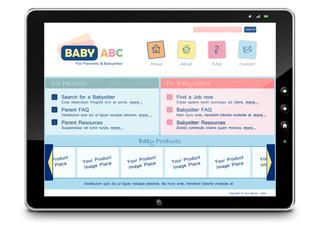 Tablet-PC, Computer, Webdesign, Internet, Baby, Eltern, Kinder