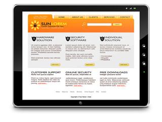 Tablet-PC, Computer, Webdesign, Internet, Hardware, Sicherheit
