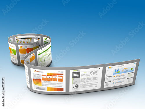 Webdesign, Website, Homepage, Präsentation, 3D, Internet, Web