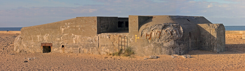 Panorama eines Bunkers