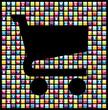 Smartphone app icon set business background