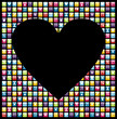 Love mobile phone application background