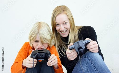 jouer ensemble à la console