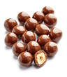 chocolate candy with nut sweet bonbon
