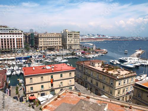Aluminium Panorama di via Caracciolo - Napoli - Caracciolo street - Napl