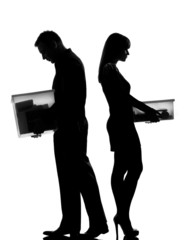 one couple man and woman divorce  separation