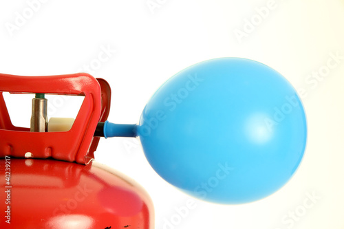 canvas print picture Balloon and Helium