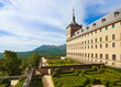Castle Escorial near Madrid Spain