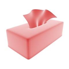 tissue red