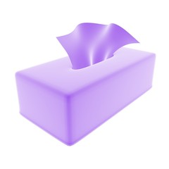 tissue purple