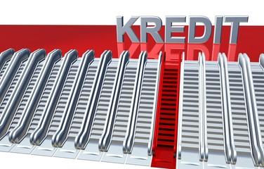 3D Rolltreppen - KREDIT