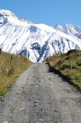 sentier de randonnée - savoie