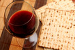 Wine and matzoh - pesach