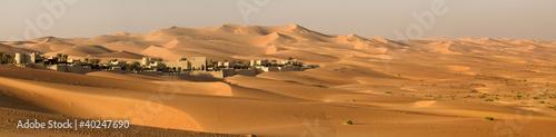 Foto Spatwand Midden Oosten Abu Dhabi's desert dunes
