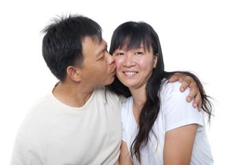 Mature Asian couple