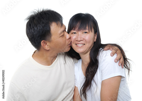 Mature Asian couple