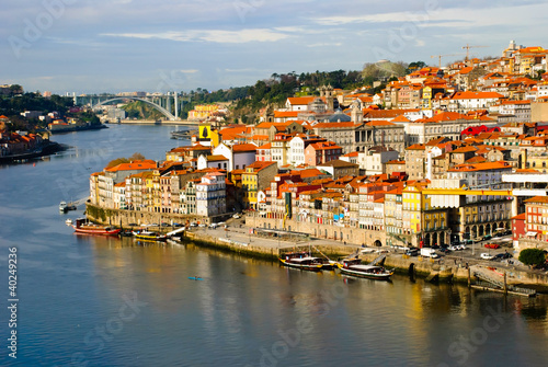 Ribeira, Old part of Porto, Portugal