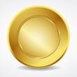 Empty golden seal