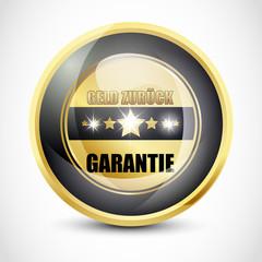 Geld Zurück Garantie Button