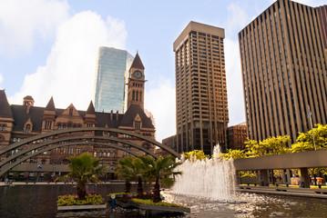 Cityscape in Toronto Canada