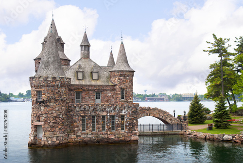 Boldt Castle 1000 islands St Lawrence River Canada