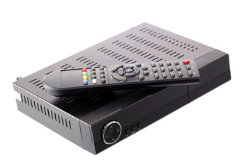 Receiver for satellite TV and DVB-T