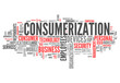 "Word Cloud ""Consumerization"""