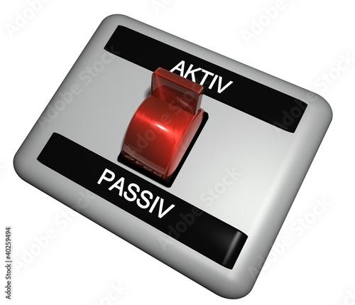 3D Schalter - AKTIV - PASSIV