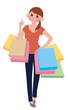 買い物 女性
