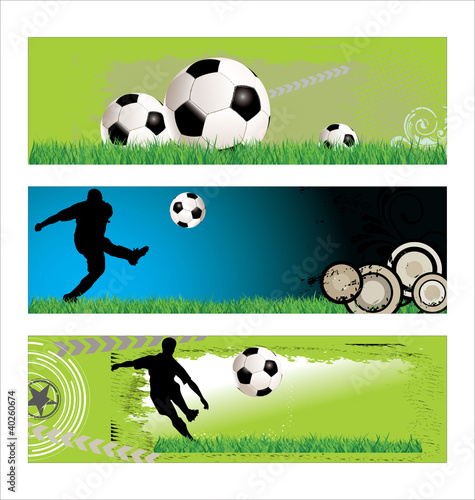 soccer background set