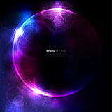 Fototapety Abstract circular space design