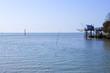 Carrelet, cabane, Océan, Atlantique, mer, pêche, filet