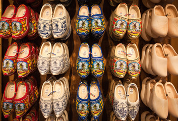Dutch Wooden Shoes on Wall
