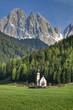Church in the Italian Alps