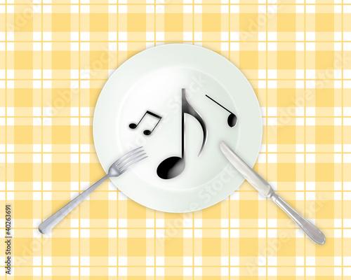 音楽を食す